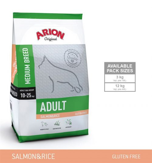 Arion Adult Laks Medium Hundefoder