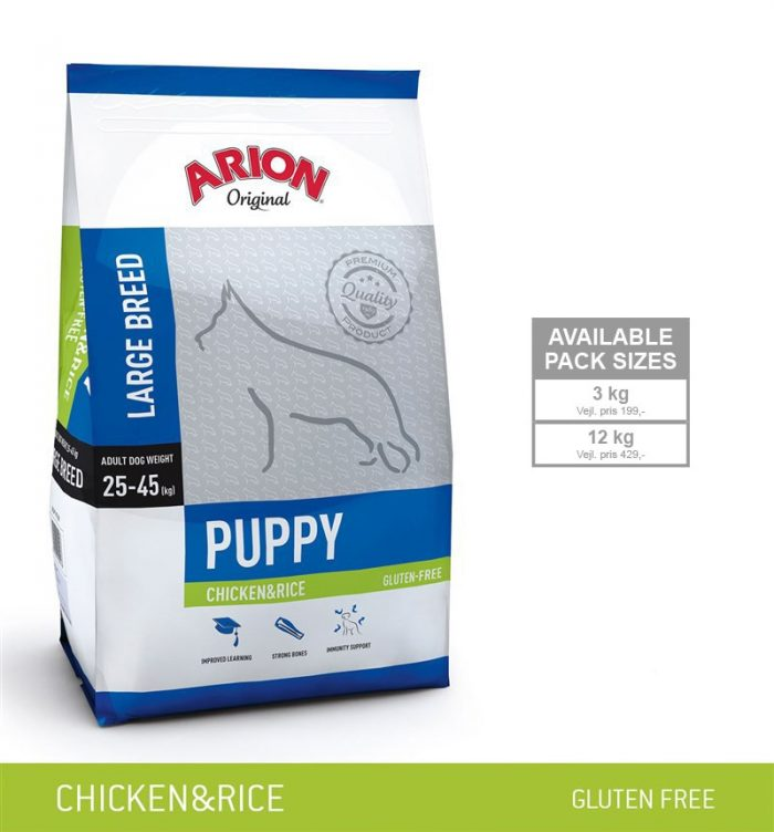 Arion Puppy Large Breed Kylling