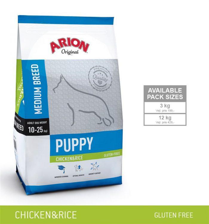 Arion Puppy Medium Kylling
