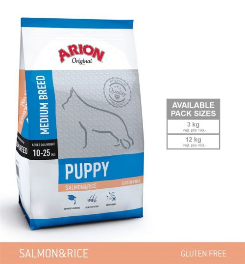 Arion Puppy Medium Laks-Ris
