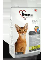 1st Choice Hypoallergenic Kattefoder