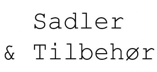 Sadler og Tilbehør