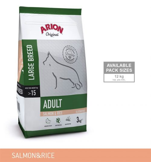 Arion Adult Laks Ris Large Breed