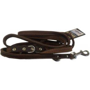 Line læder brun