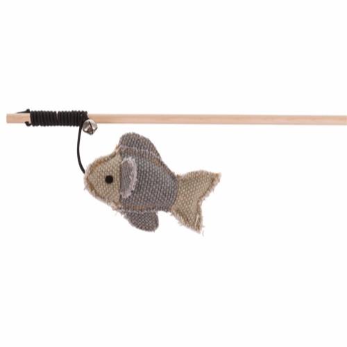 Fiskestang med fisk Nordic