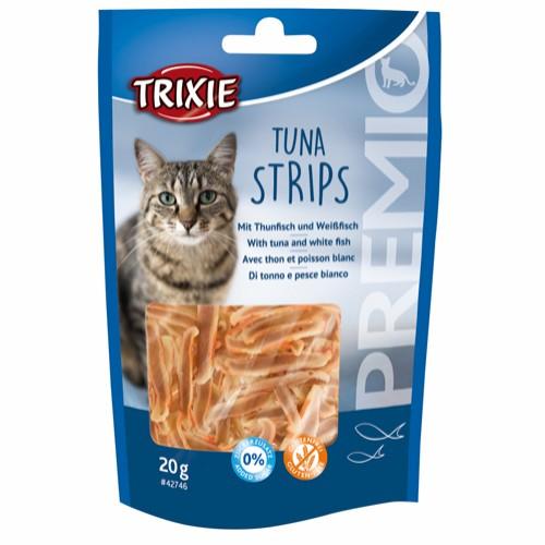 Tuna strips