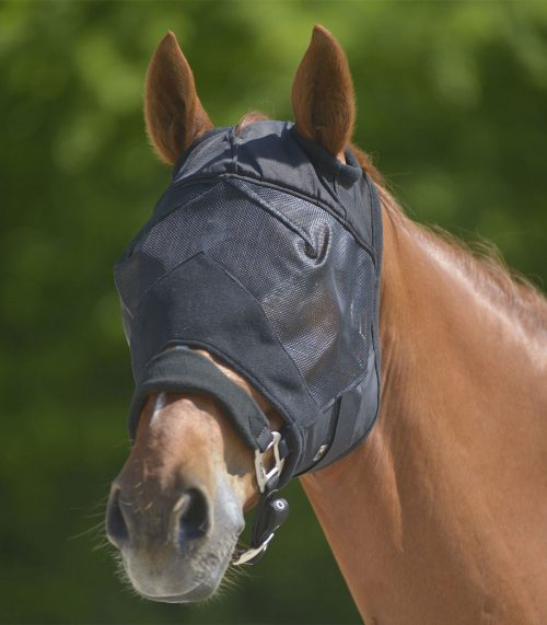Fluemaske uden ører