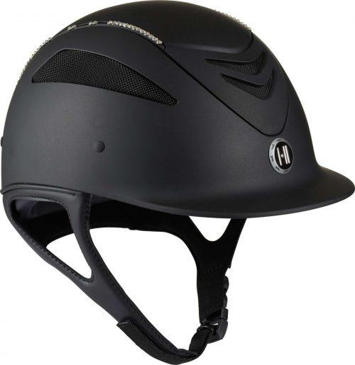 Hjelm hvid swarovski