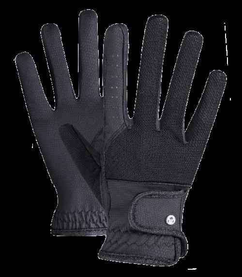 Handske med glimmer